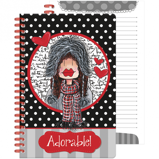 "Cahier de notes ""Adorable"""