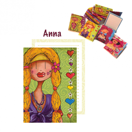"Livret de notes ""Anna"""