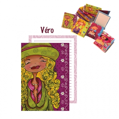 "Livret de notes ""Véro"""