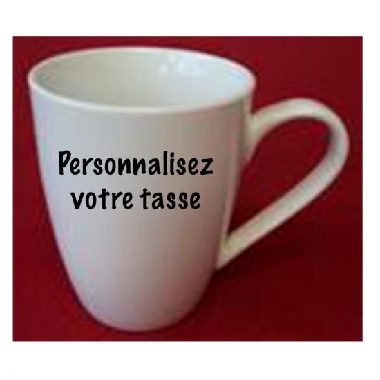 Tasse à personnaliser (format régulier)