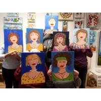 Jeudi 18 janvier, 18h-21h - Paint Nite : Autoportrait