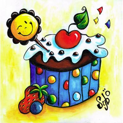 """Jeudi 8 mars, 8h-12h - """"Cupcake atelier de peinture tout inclus"""""""