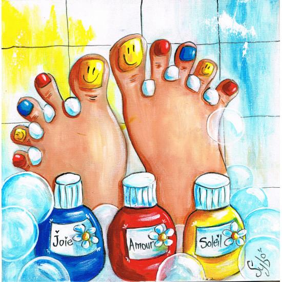 """Jeudi 1er mars, 18h-21h - Painte Nite : """"La pédicure"""""""
