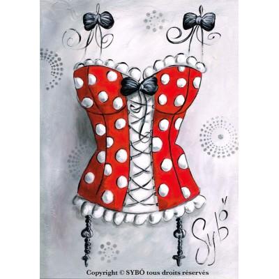 Mon corset picoté