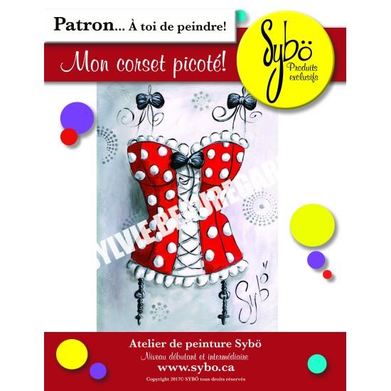 Patron Mon corset picoté