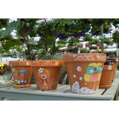 Samedi 19 mai 9h-12h30 - Viens peindre ton pot de fleurs!