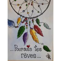 """Jeudi 25 janvier, 18h-21h - Paint Nite : """"Poursuis tes rêves"""""""