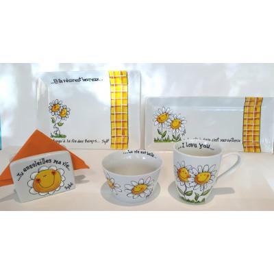 Samedi 21 avril, 8h30h-12h30 - Kit de vaisselle ensoleillée pout les journées d'été